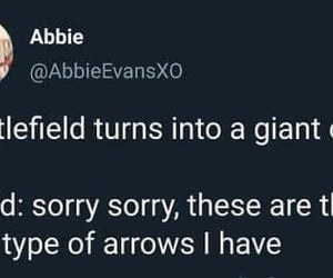 are, sorry sorry, and arrows image