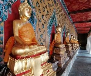 bangkok, travel, and thailand image