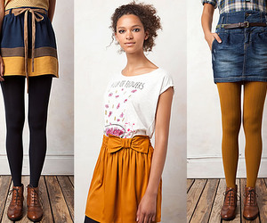 fashion, mustard, and girl image