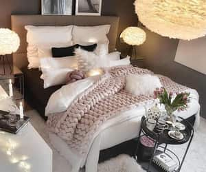 architecture, bedroom, and cozy image