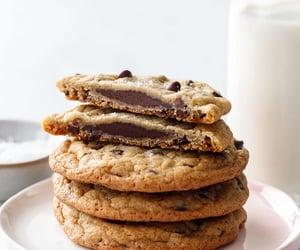 chocolate, Cookies, and ganache image