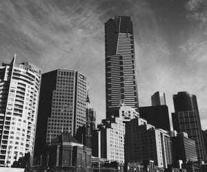 blackandwhite, buildings, and city image