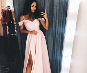 dress, prom dress, and dresses image