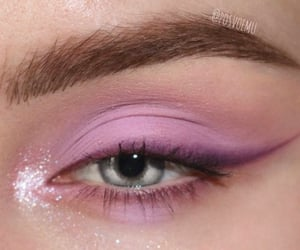 beauty, glitter, and makeup image