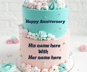 love anniversary cake image