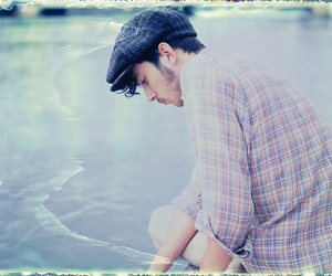beach, boy, and fuji image