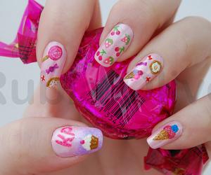 candy, nails, and kawaii image