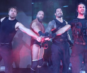 wwe, triple h, and roman reigns image