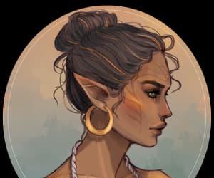 elf, elven, and fan art image