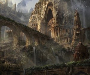 fantasy, magic, and Temple image