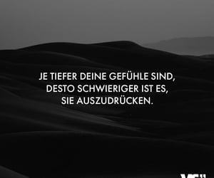 deutsch, text, and gefühle image