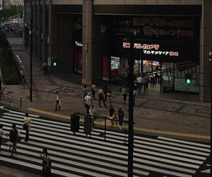 city, aesthetic, and japan image