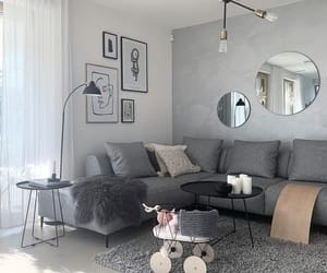 decor, decoration, and grey image