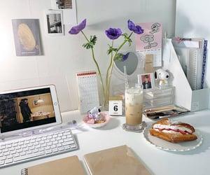 aesthetics, working, and desk image