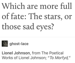 eyes, fate, and human image
