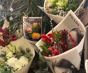 flowers, Prada, and aesthetic image