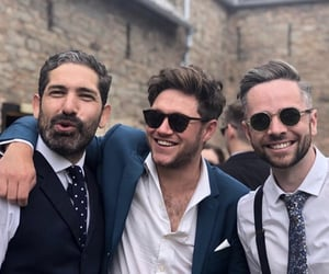 wedding, niall horan, and friends image