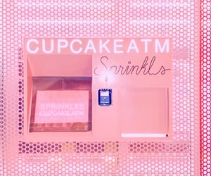 atm, Beverly Hills, and cupcake image