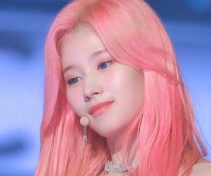 pink, sana, and cute image