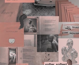 wallpaper, pink, and ariana grande image