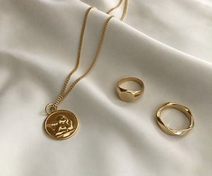 gold, accessories, and aesthetic image