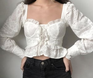 blanco, white, and blouse image