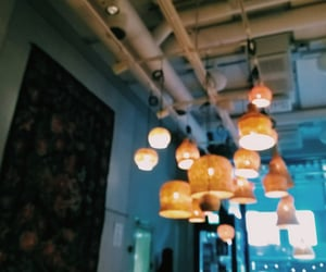 cafeteria, aesthetic, and cafe image