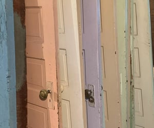 colors, doors, and pale image