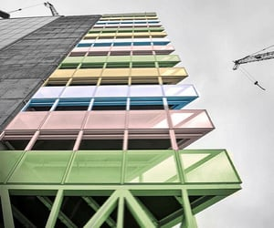 architecture, colors, and pastel image