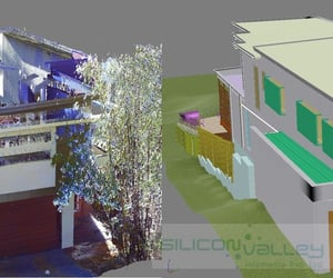 point cloud scan to bim and 3d scan to cad image