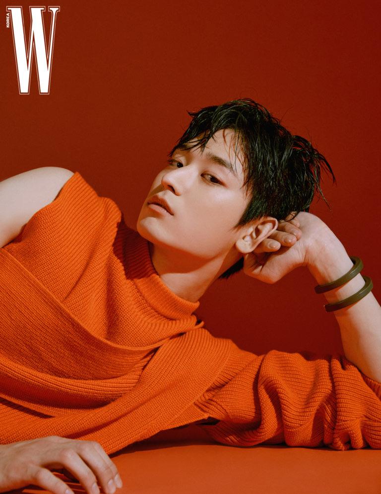 photoshoot, visual, and w korea image