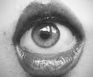 eye, mouth, and lips image