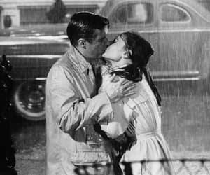 kiss, audrey hepburn, and Breakfast at Tiffany's image