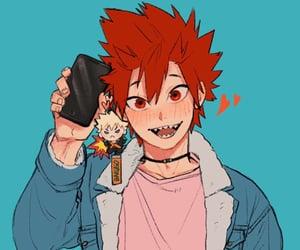 anime, phone charm, and my hero academia image