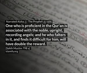quran, islamic quote, and hadiths image