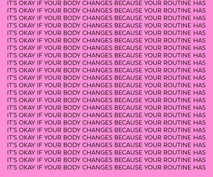 body positive, growth, and inspiration image