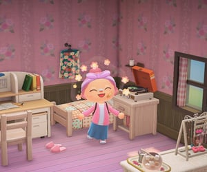 animal, animal crossing, and cottage image