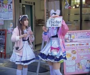 anime, Harajuku, and japan image