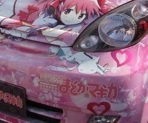 anime, kawaii, and anime car image