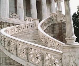 architecture, aesthetic, and stairs image