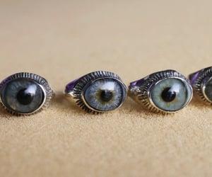 creepy, eyes, and ring image