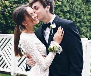 couple, homecoming, and Prom image