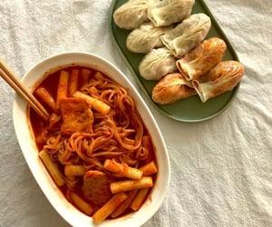 aesthetic, dumplings, and ramen image