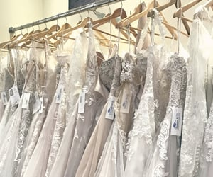 bridal, bridal fashion, and wedding dress image