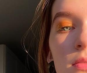 aesthetics, earring, and eye image