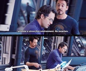 Avengers, tony stark, and banner image