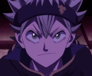 anime, icon, and asta image