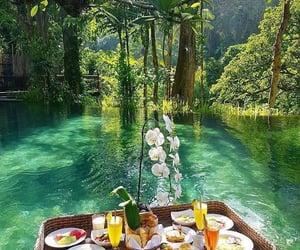 bali, breakfast, and nature image