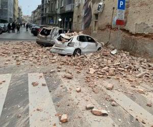 Croatia, earthquake, and zagreb image