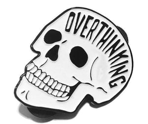 skull and overthinking image